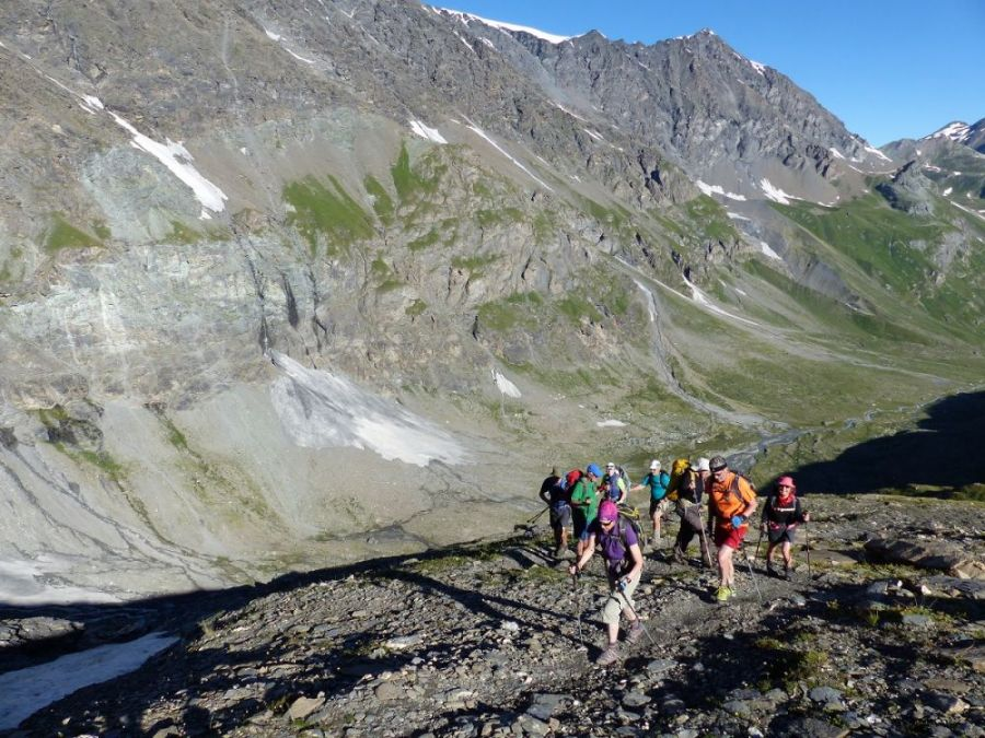 Hiking Alps Gran Paradiso