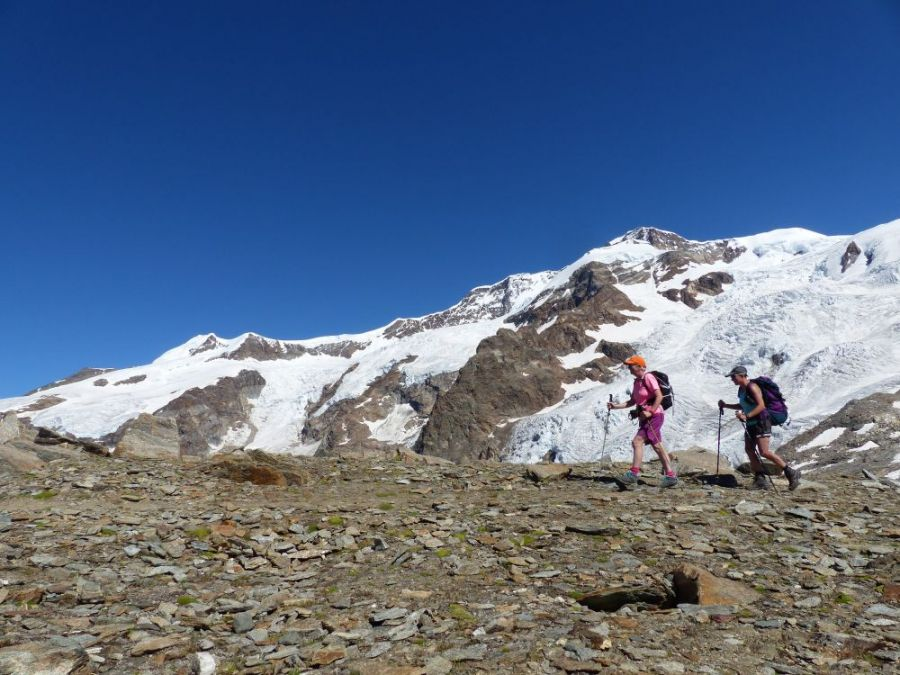 Hiking Monte Rosa Alps